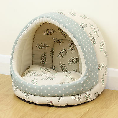 Small Polka Dot/Leaf Pet Bed Igloo Rabbit/Guinea Pig Miniature/Teacup/Chihuahua