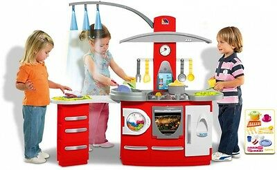 Toy Kitchen Role Play with Lights