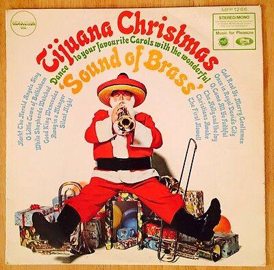 "Tijuana Christmas 'Sound Of Brass' The Torero Band Vintage 12"" Vinyl Record LP"
