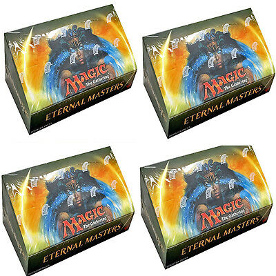 Magic the Gathering Eternal Masters Booster Box 24 MTG SEALED ***4 CASE LOT***