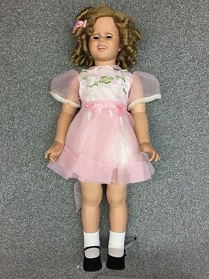 """406 Shirley Temple 33"""" Playpal Lovee Doll from DANBURY Mint"""