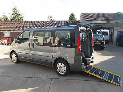 Wheelchair Accessible Disabled Wav 2010 Renault Trafic Sl27 Dci 115 Ramp 5 Seats