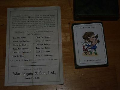 Vintage happy families card game by John Jaques