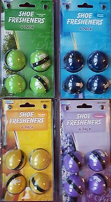 8 x 4 Pack Shoe / Trainers Fresheners Sneaker  Odours Balls