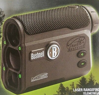 Bushnell The Truth Laser Rangefinder with ClearShot 202442, NEW, Bowhunting