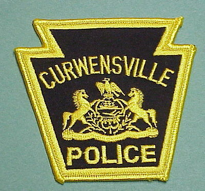 Curwensville  Pennsylvania  Pa  Police Patch   Free Shipping!!!