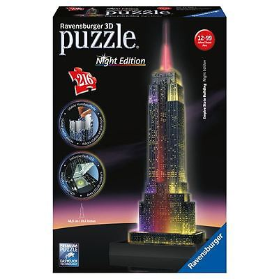 Puzzle 3D Night Edition Empire State Building
