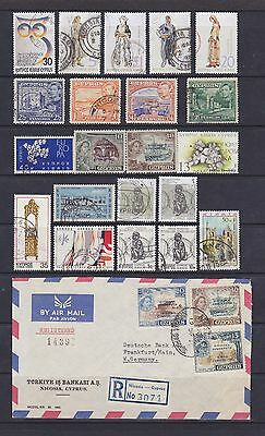 Cyprus (1) - Another Good Lot Of 21 Used Stamps + - See Scan.
