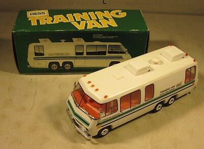 Vintage 1978 Hess Amerada Training Van With Box Toy