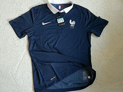 Maillot France  domicile M pro player issue shirt, jersey, maglia,camiseta. FFF