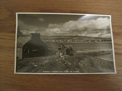 Vintage Rp Postcard Burray From The Ayre Of Cara Orkney W Hourston Stromness