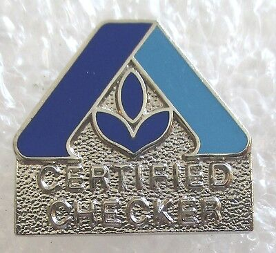 Albertsons Supermarket/Grocery Store Certified Checker Employee Award Pin