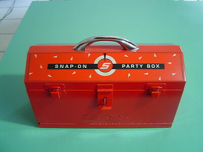Snap-On Tools Party Box, Cards, Dice, Chips, Cribbage Board, Complete, Brand New