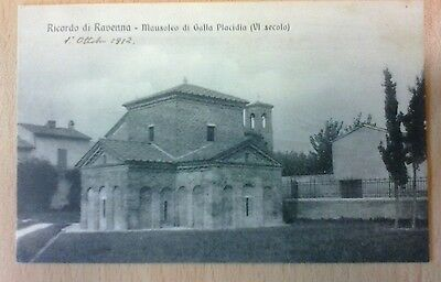 RICORDO DI RAVENNA galla placidia  1912 BELLA  !!