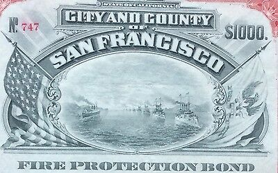 San Francisco Fire Protection, 1908