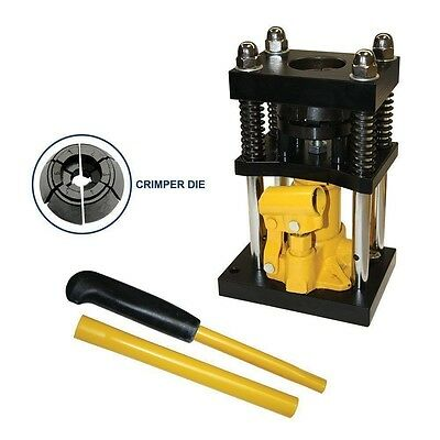 "3/8"" to 1/2"" Manual Hydraulic Air Hose Ferrel Crimper Crimping Ferrell Crimp"