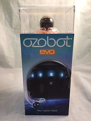 Ozobot Evo the Smart and Social Robot Toy - Titanium Black