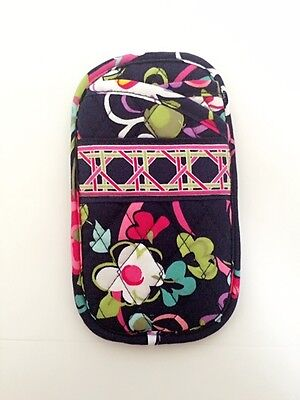 NWT Vera Bradley Double Eye Eyeglass Case / iPhone Case in Ribbons