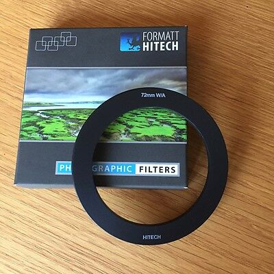 Formatt Hitech 72mm Wide Angle Adapter for 100mm Holders - mint