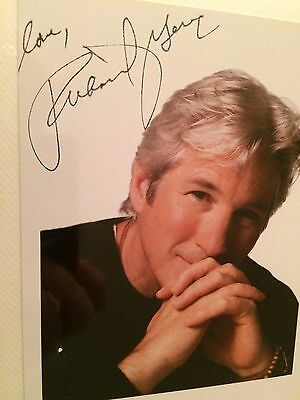 7x5 Signed Photo of Actor Richard Gere