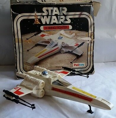 Star Wars X-Wing Fighter Complete, Original Boxed (Palitoy 1977)