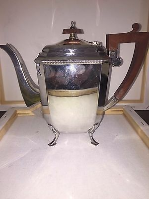 Solid Silver Teapot 717 grams Sheffield 1948