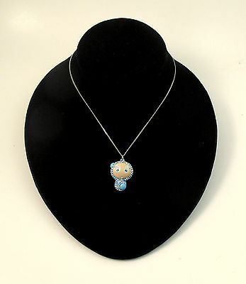 Swarovski Erika Out of the Blue Pendant 1040938 Bargain Retired Crystal Necklace