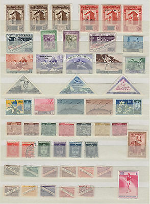 Lot of 50 Different SAN MARINO Postage Stamps incl triangle (3) Coat of Arms etc