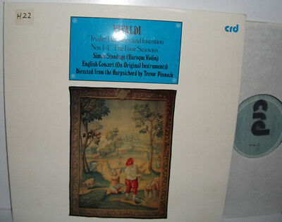 CRD 1025 Vivaldi Trial Of Harmony And Invention Nos 1-4 The Four Seasons
