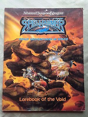 spelljammer lorebook of the void     dungeons and dragons 2nd edition