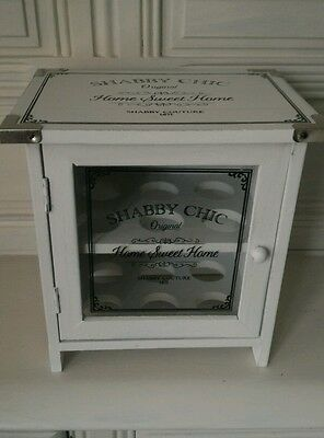 Shabby Chic Wooden 12 Eggs House Cupboard Storage