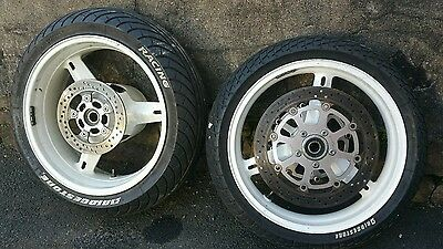 Gsxr 1000 wheels and wets with discs