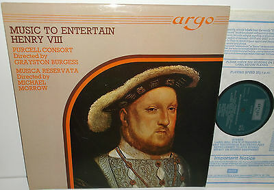 ZK 24 MusicTo Entertain Henry VIII Purcell Consort Of Voices Musica Reservata