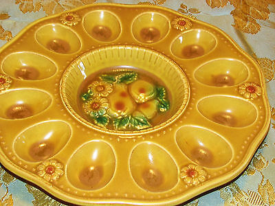 Vintage Japan Deviled Egg Platter...SALE