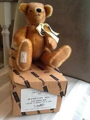 Deans limited edition Hampton bear boxed brand new no: 1397