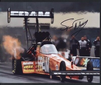 Spencer Massey Fram Top Fuel Dragster autographed 8x10 photo