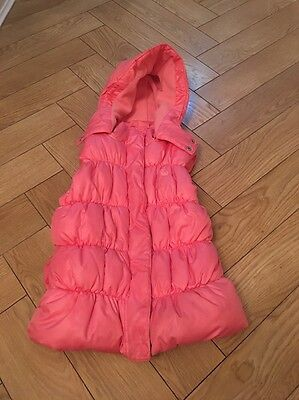Pink Padded Next Gilet Aged 7-8 Years