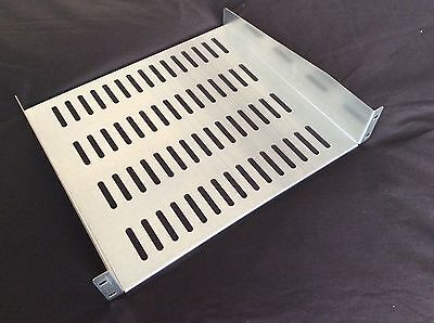"2U 19"" rack mounting shelf 16"" depth"