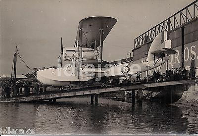 Short Brothers Rochester 1926 Singapore 1 N179 Flying Boat Launch Photo