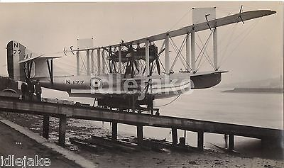 Short Brothers Rochester Seaplane Photo F5 Felixstowe N-177