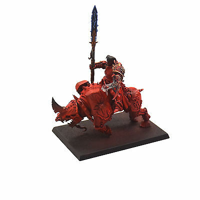 WARRIORS OF CHAOS Chaos lord on juggernaut #1 PAINTED Warhammer fantasy