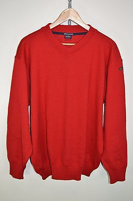 vtg 80s PAUL AND SHARK ORIGINAL CASUALS WOOL BRETAGNE JUMPER SWEATER size LARGE