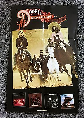 "Rare DOOBIE BROTHERS ""STAMPEDE"" 1975 WARNER BROTHERS RECORDS PROMO POSTER"