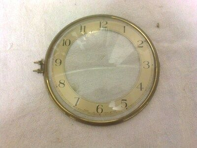 Clock  Parts ,  Bezel  With  Convex  Glass,  Large