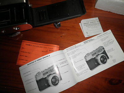 Camara Fotografia Yashica Minister D 35 Mm Film Camera Made In Japan Completa