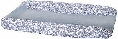 Changing Pad Cover for Baby-Colors Blue and White- Dena Indigo- Brand New!