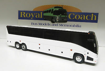 "Brand New Mold MCI ""J"" Untrimmed 11"" Plastic Bank Bus - True 1:50 Scale"