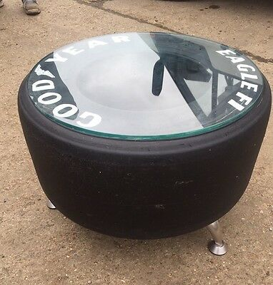 F1 tyre Coffee Table