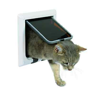 Trixie 4-Way Cat Flap - SAME DAY DISPATCH