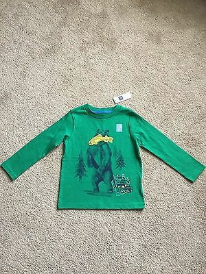 Baby Gap Boy's Long Sleeve Graphic Tee Size 4T